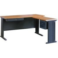 钢桌 电脑桌 职员桌 双柜钢制办公桌 主管桌