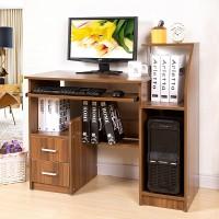 蔓斯菲尔多功能板式电脑桌台式桌家用 台式电脑桌 办公桌创意书桌