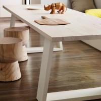 现代简约铁艺实木办公桌 老板员工洽谈桌会议桌 酒店展厅桌椅