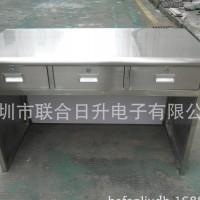 不锈钢办公桌非标定制办公桌电脑桌物料桌不锈钢工作台