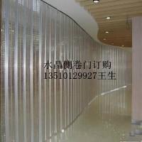惠州大亚湾吊轨pvc透明防盗商铺弧形水晶折叠门安装视频惠州折叠门
