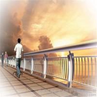 市政桥梁灯光护栏 LED灯光护栏 景观道路栅栏 不锈钢灯光护栏定制