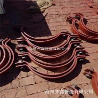 水平管道拉杆长管夹、Z15抱箍支架  齐鑫提供给你高品质的保证