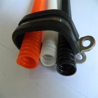 福莱通FLT-R22*2 汽车线束双管紧固夹 21*2双偏式高压线束R型不锈钢单边管夹固定支架