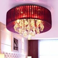 爱灯慧ADH8005卧室水晶吸顶灯 爆款推荐中式客厅吊灯 创意款新中式吊灯家居卧室水晶灯 一件代发