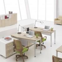 直销 爆款办公桌 组合工作位 时尚职员电脑桌 屏风办公台
