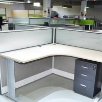 深圳圣美展厅家具办公屏风卡位办公桌 专业订制 欢迎前来参观