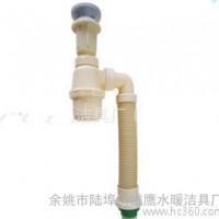 直销ZMA-6P型连体下水管米黄和白色二款颜色