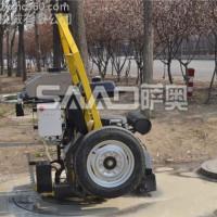 萨奥SAAO 井盖切割机厂家高效率施工现场圆形路面切缝机