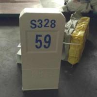 前方施工标志桩玻璃钢施工标志桩技术规格
